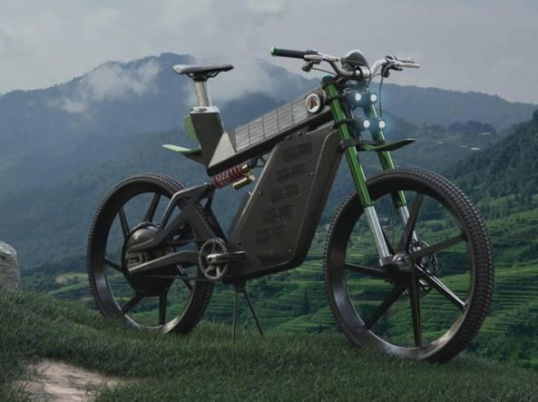 Terra: l'e-bike che si ricarica con l'energia solare