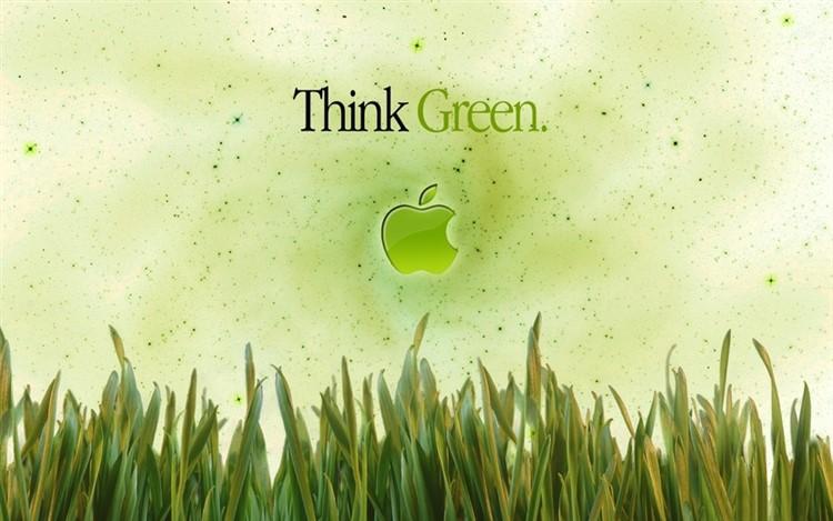 """Greenpeace omaggia Apple con una piccola variazione al suo slogan. Da """"Think Different"""" a """"Think Green"""""""