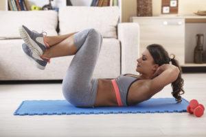 attivita fisica pancia gonfia