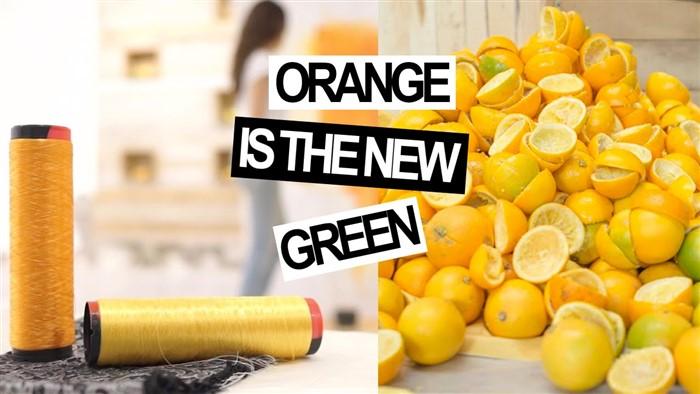 Cucire Ecopelle vegetale: Orange Fiber