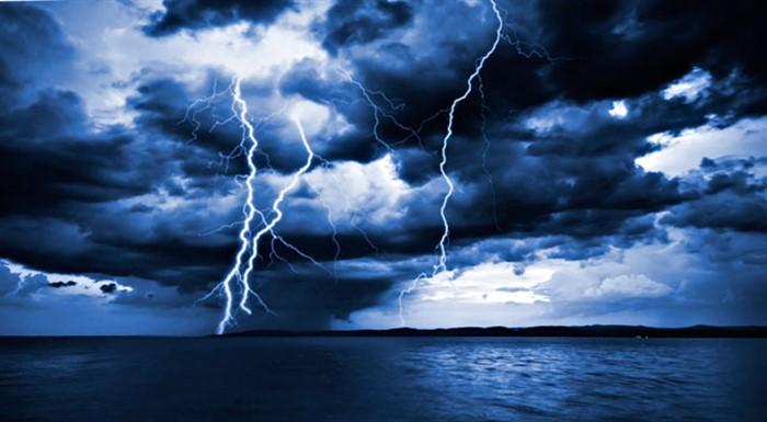 immagazzinare l'energia dei fulmini