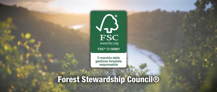 La certificazione FSC attesta non solo la qualità eco-sostenibile della carta