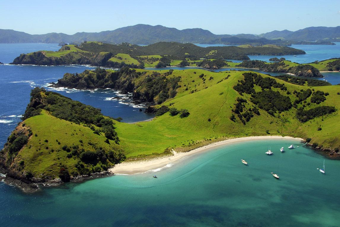 Ecoturismo oceania: nuova zelanda