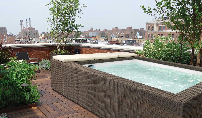 E' possibile mettere una piscina sul terrazzo?
