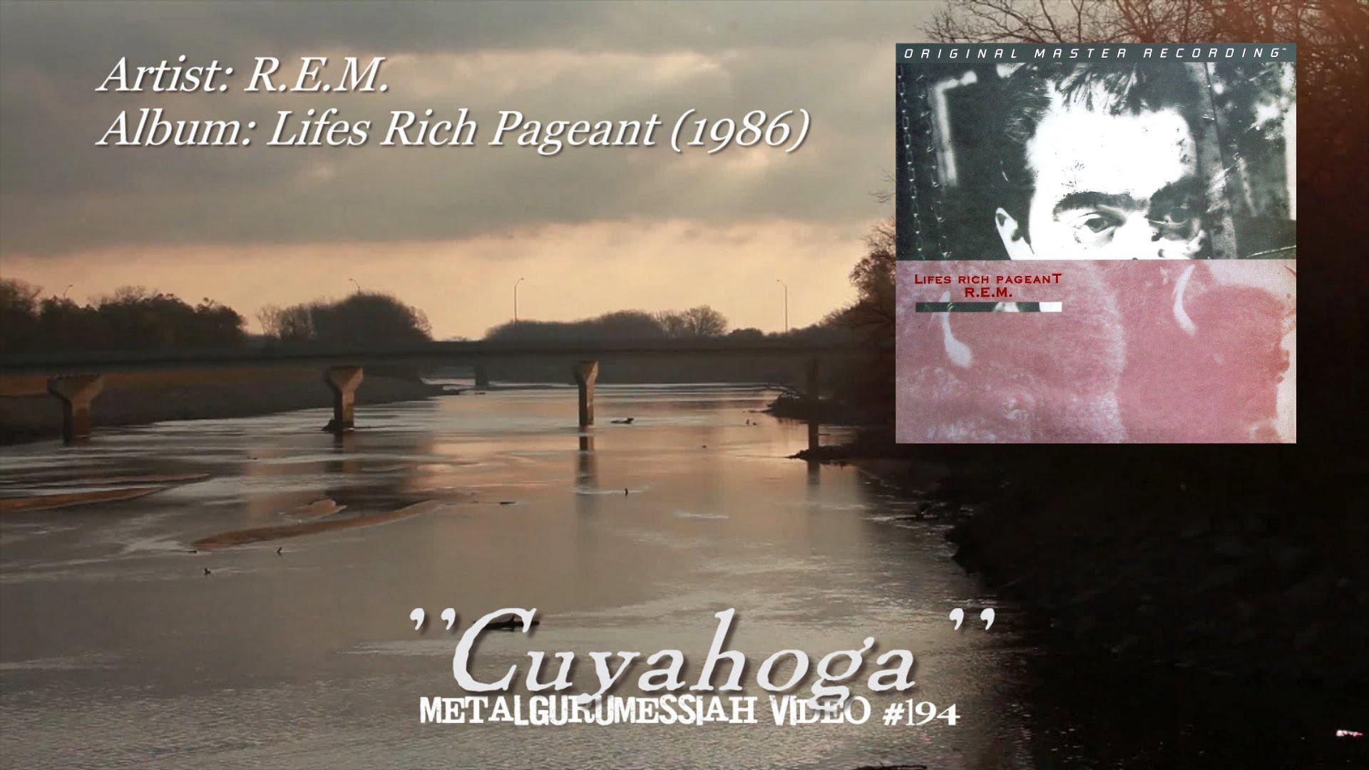 R.E.M. – Cuyahoga Live a Madrid, Spagna (9 Maggio2001)