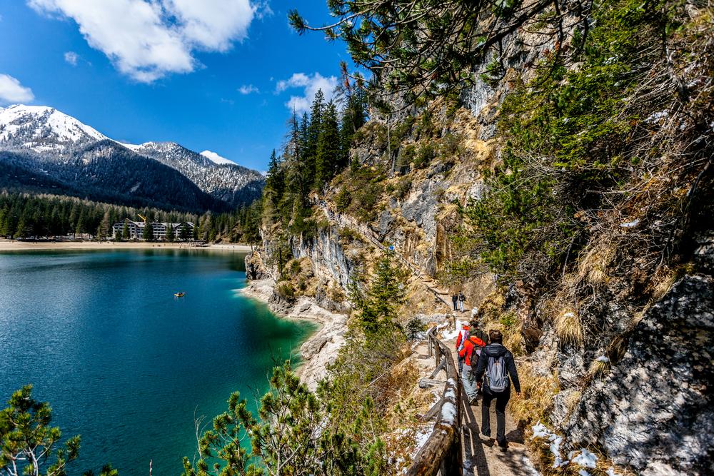 trekking braies