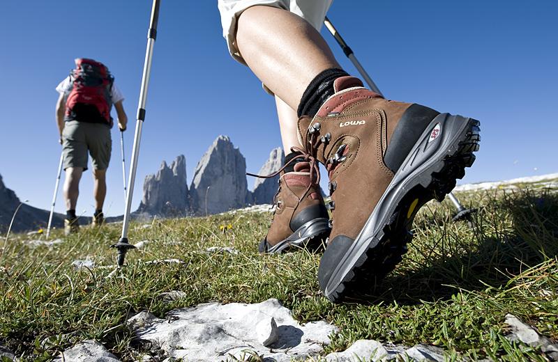 Trekking in Italia in Primavera